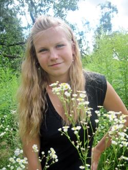 Аліна Каргіна, 17 років. Зріст 162 см. смт Гранітне Малинського району