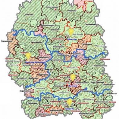 А урядовці в карти граються... |На Житомирщині хочуть зробити лише 4 райони