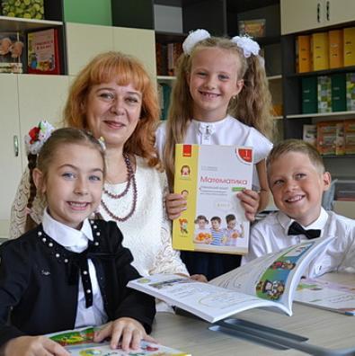 Першачки йдуть у «Нову українську школу»